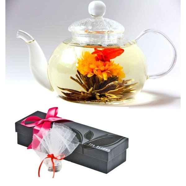 Tea Beyond Rarest High Mountain Blooming Tea Intimate Jasmine Gift Set BON