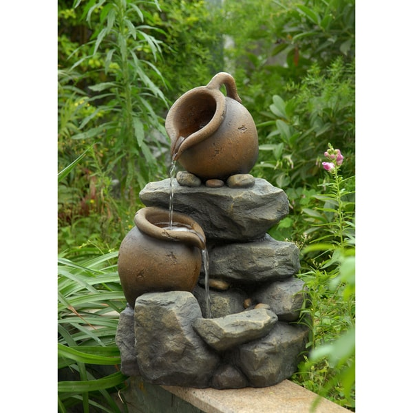 Shop Small Pots Water Fountain