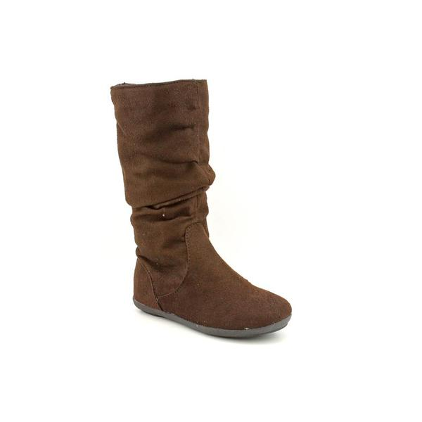 Rampage Girls Girl's 'Alanna' Brown Fabric Boots