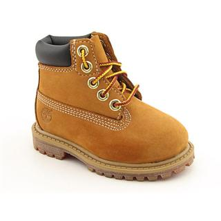 Timberland Boy's '6' Premium Waterproof' Nubuck Boots
