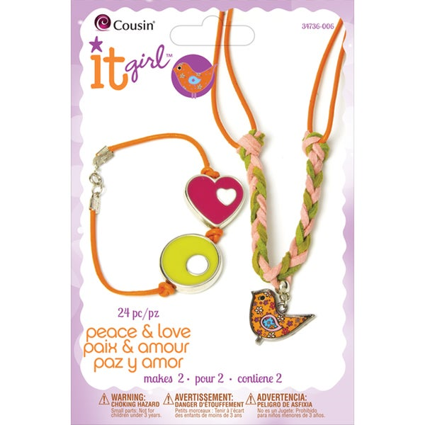 It Girl Jewelry Kits-Flower Chick 24 Pieces