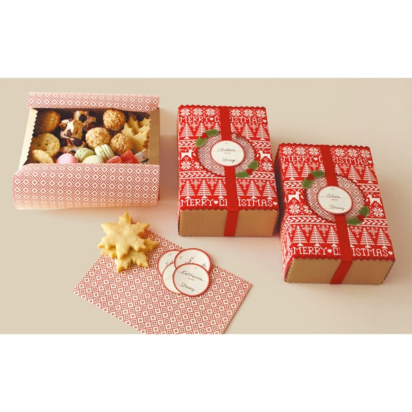 """Match Boxes 5.5""""X8.5"""" Makes 6-Cottage Christmas"""