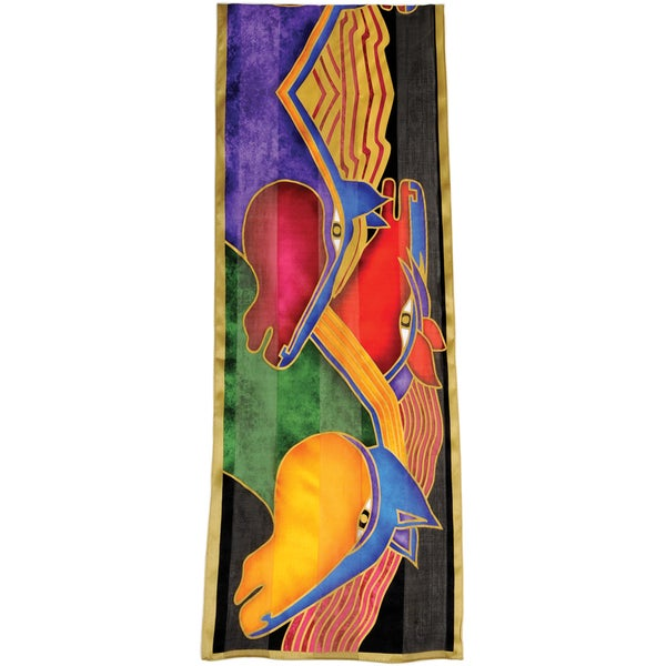 Laurel Burch Scarves-Stallions
