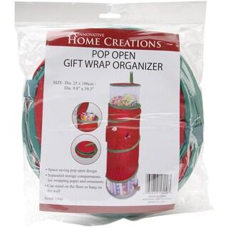Pop-Open Christmas Gift Wrap Organizer
