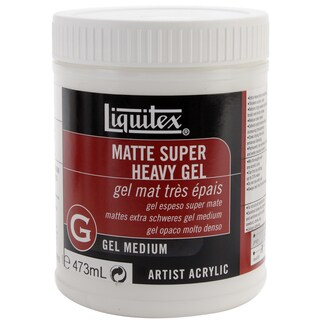 Liquitex Super Heavy Matte Gel Medium-16 Ounces