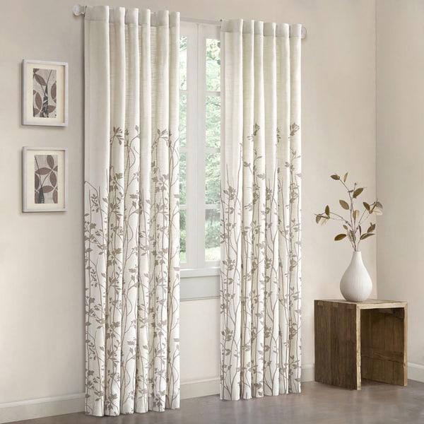 Shop Madison Park Aramo 84-inch Single Curtain Panel