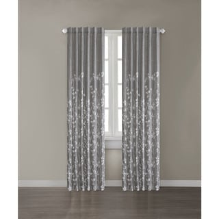 Madison Park Aramo 84 inch Curtain Panel. Grey  Back Tab Curtains   Drapes   Shop The Best Deals For Apr 2017