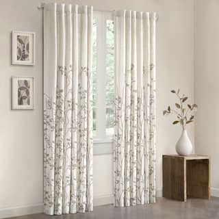 Madison Park Aramo 84-inch Single Curtain Panel - 50x84""