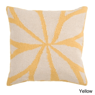 Nelson Down or Poly-Filled 18-inch or 22-inch Throw Pillow
