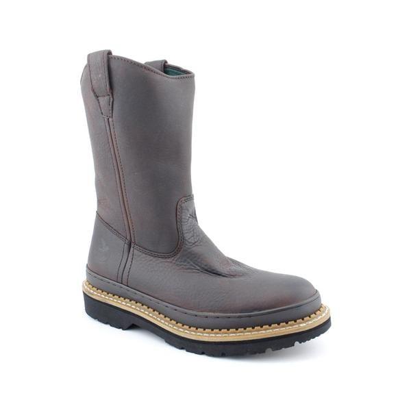 Georgia Men's 'G4274 Wellington Giant' Leather Boots (Size 11)