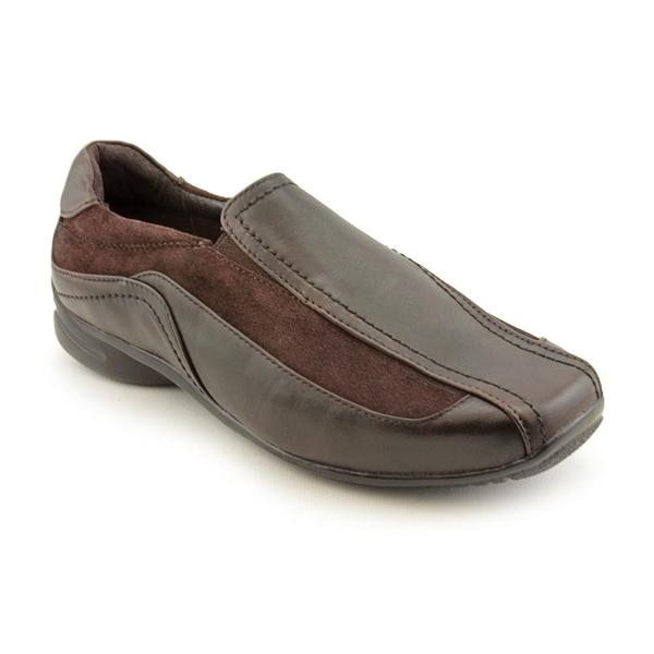 Blondo Women's 'Farah' Leather Casual Shoes - Wide (Size 7.5)