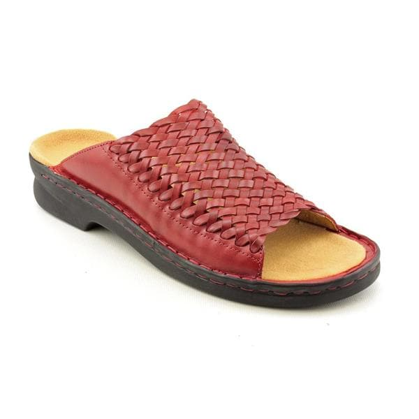 Clarks Women's 'Patty River' Leather Sandals - Narrow