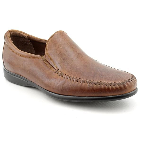 Neil M Men's 'Tuscany' Leather Dress Shoes - Extra Wide (Size 11)