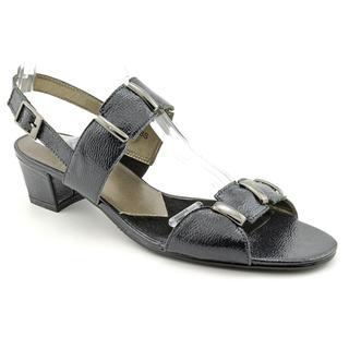 David Tate Women's 'Sabina' Patent Leather Sandals - Narrow (Size 8)