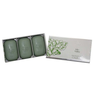 Woods of Windsor Lily Of The Valley Women's Fine English Soap (Box of 3)