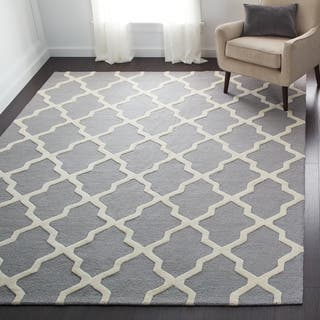 Safavieh Handmade Moroccan Cambridge Silver Wool Rug|https://ak1.ostkcdn.com/images/products/7530607/P14967211.jpg?impolicy=medium