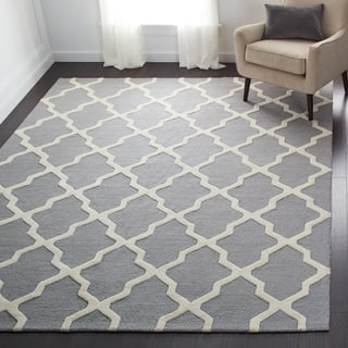 Safavieh Handmade Moroccan Cambridge Silver Wool Rug|https://ak1.ostkcdn.com/images/products/7530607/P14967211.jpg?impolicy=medium
