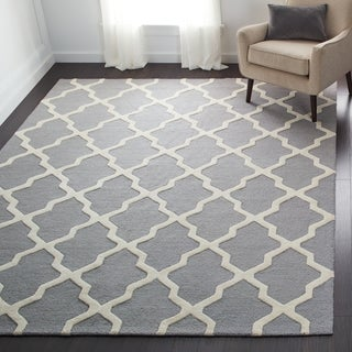 Safavieh Handmade Moroccan Cambridge Silver Wool Rug (More options available)