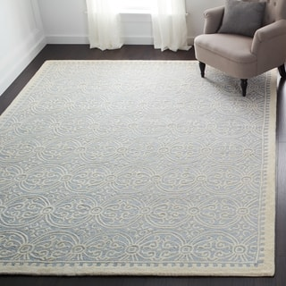 Safavieh Handmade Moroccan Cambridge Light Blue Wool Area Rug More Options Available