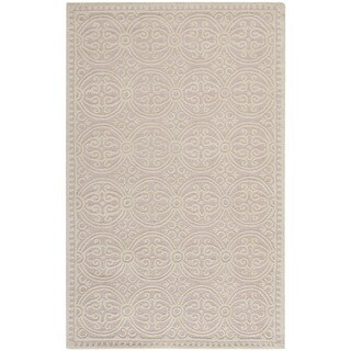 Safavieh Handmade Moroccan Cambridge Light Pink Wool Rug