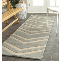 Safavieh Handmade Moroccan Cambridge Paradise Grey Wool Rug