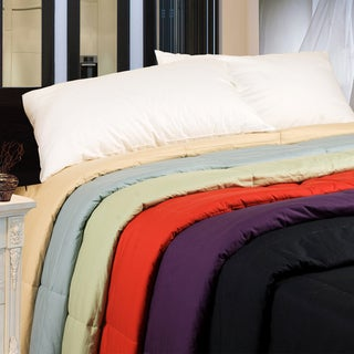Link to Cottonpure Sustainable Cotton Fill Medium Warmth Breathable Comforter Similar Items in Blankets & Throws