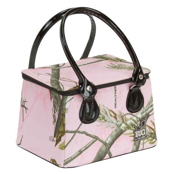 RG by Caboodles Pink Realtree AP Camo Tapered Tote