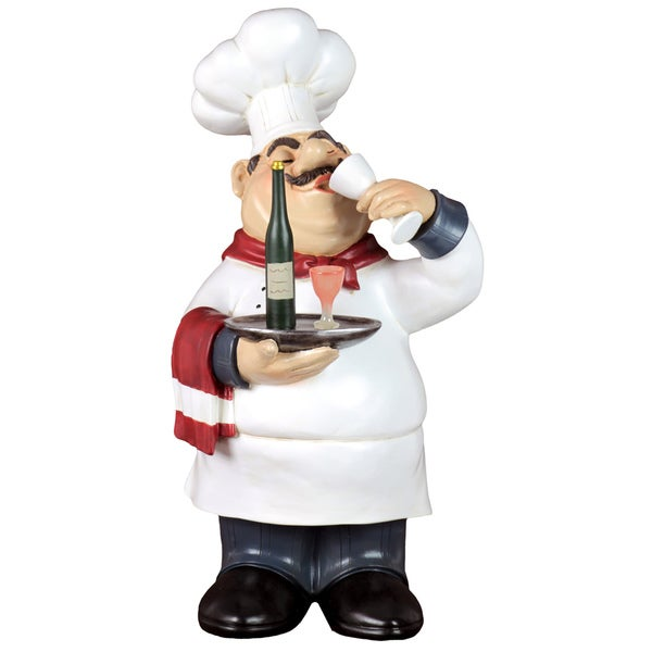 Urban Trends Collection 14-Inch Whimsical Resin Chef