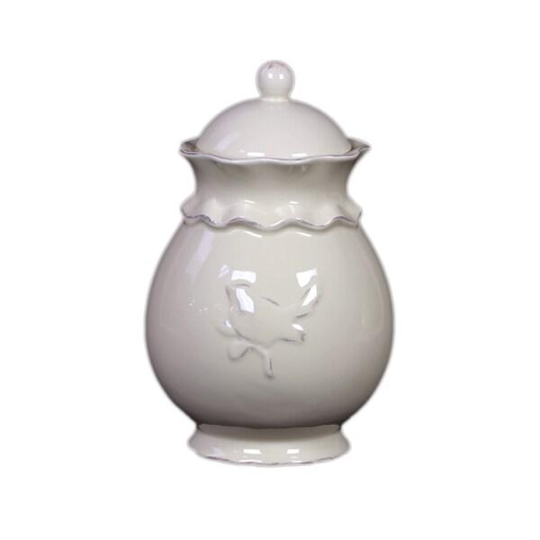 Ceramic Jar with Lid Large