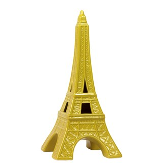 Yellow Ceramic Eiffel Tower