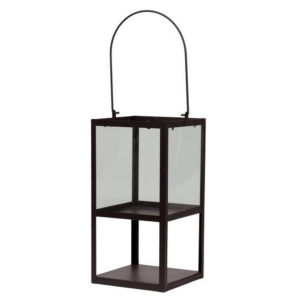 Urban Trends Collection Brown Large Metal Lantern
