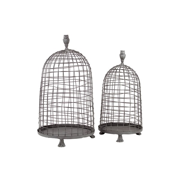 Urban Trends Collection Metal Planter (Set of 2)