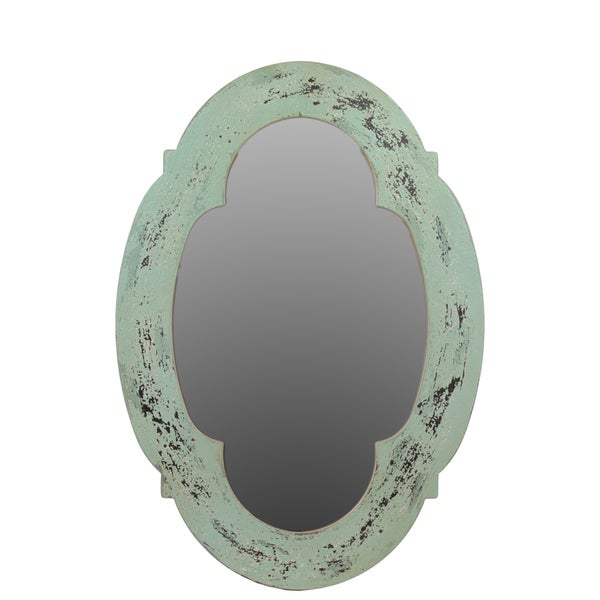 Urban Trends Collection 28-inch Wooden Mirror