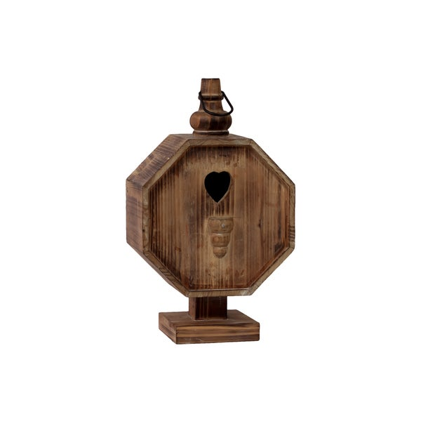 Urban Trends Collection 15-inch Wooden Bird House