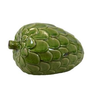 Urban Trends Collection Green Ceramic Artichoke