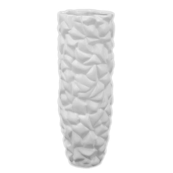 Urban Trends Collection Ceramic White Vase