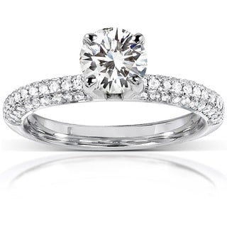 wedding rings complete your special day overstockcom - Wedding Engagement Rings