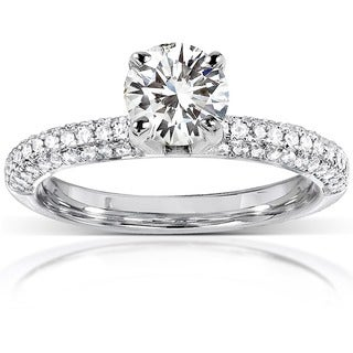wedding rings complete your special day overstockcom - Affordable Diamond Wedding Rings