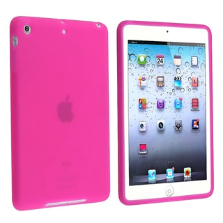 BasAcc Hot Pink Silicone Skin Case for Apple iPad Mini
