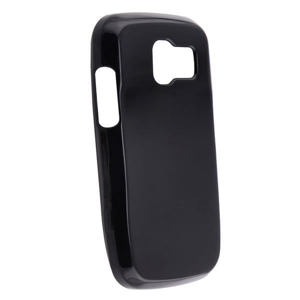 BasAcc Black Silicone Skin Case for Pantech Link P7040