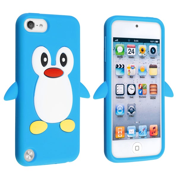 BasAcc Blue Penguin Silicone Case for Apple® iPod touch Generation 5