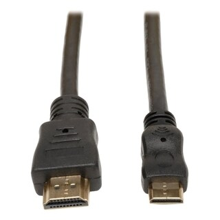 Tripp Lite 6ft HDMI to Mini HDMI Cable with Ethernet Digital Video /