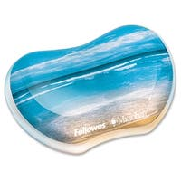 Fellowes Photo Gel Wrist Rest Microban® Protection
