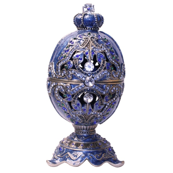 Cristiani Majestic Egg Trinket Box