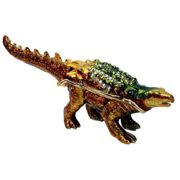 Cristiani Dinosaur Figure Trinket Box