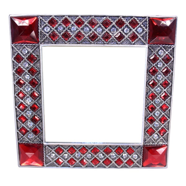 Cristiani Red Crystal-embellished Frame