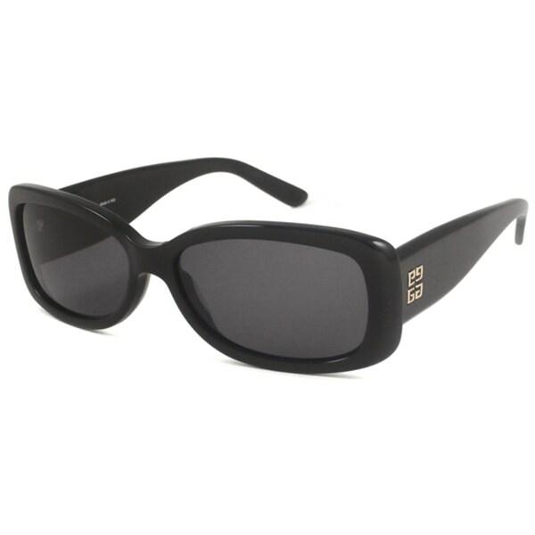 Givenchy Women's SGV688 Rectangular Sunglasses