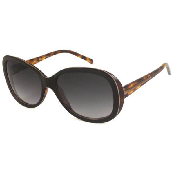 Givenchy Women's SGV726 Rectangular Sunglasses