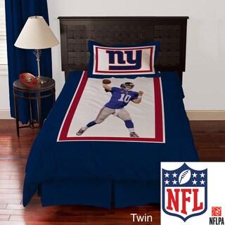 NFL Biggshots New York Giants Eli Manning 4-piece Comforter Set