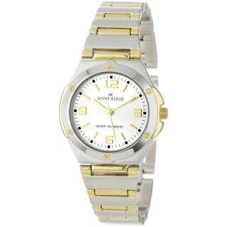 Anne Klein Women's Silver Stainless-Steel Quartz Watch